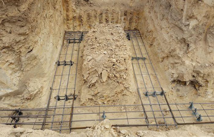 slab footing digger excavation hire gold coast