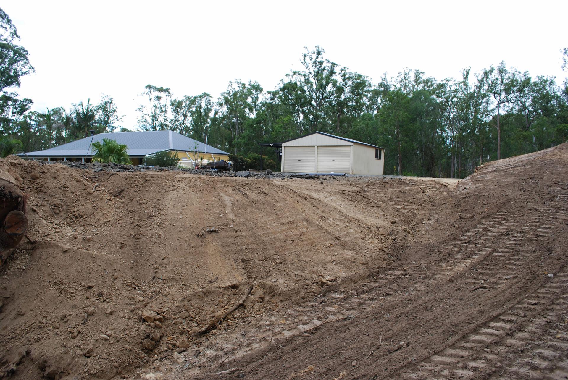 Acreage Land levelling gold coast brisbane