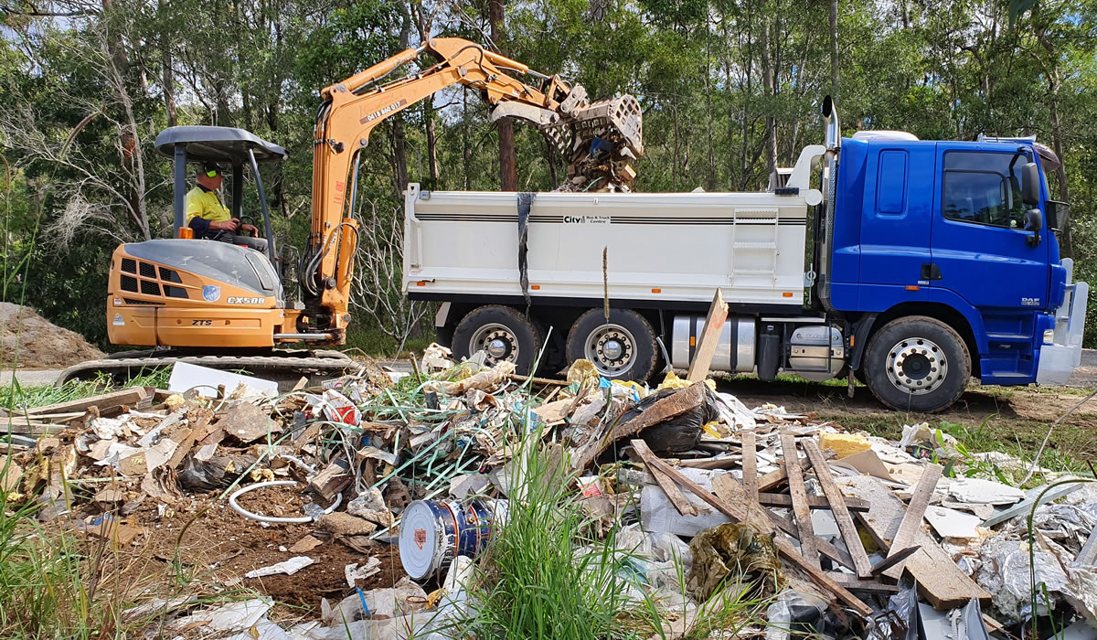 demolition building materials cleared gold coast