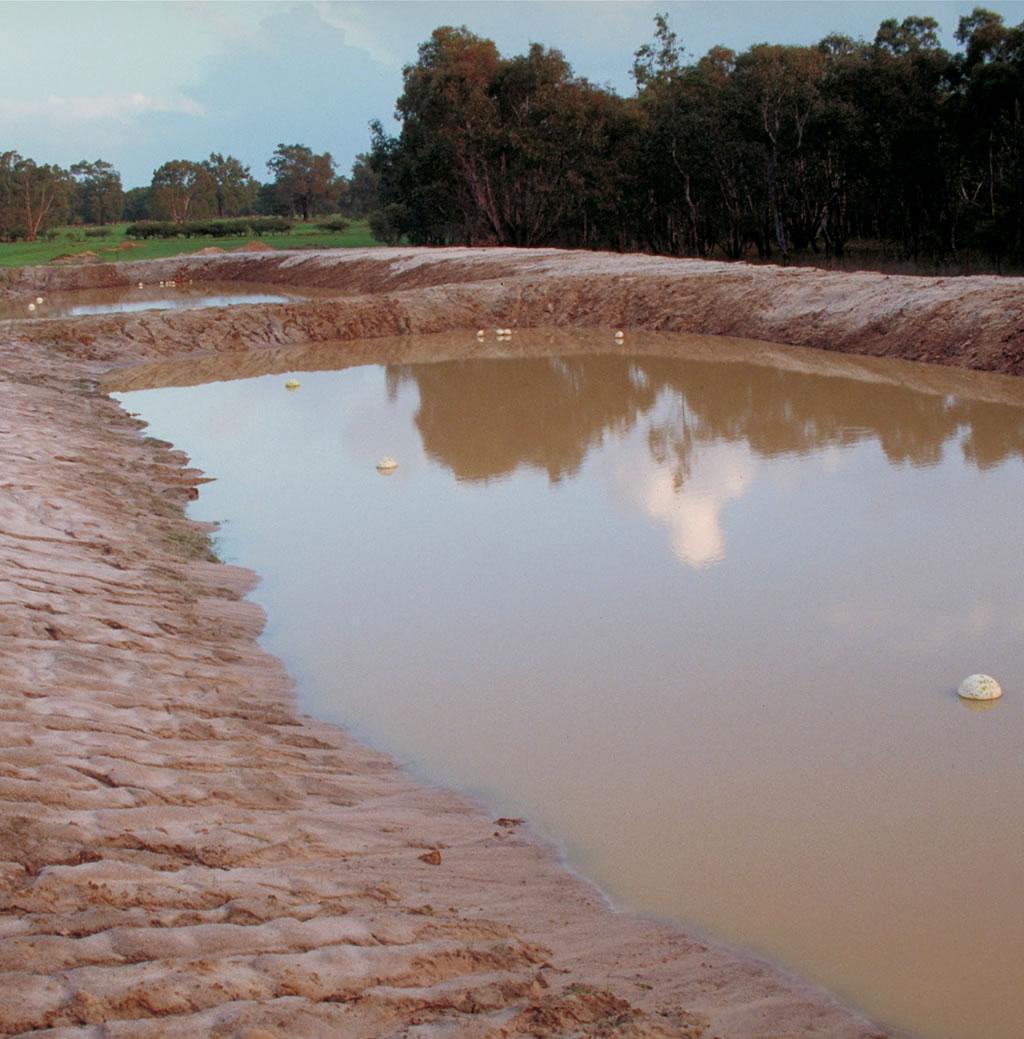 excavated ground water tank dam Gold Coast Brisbane