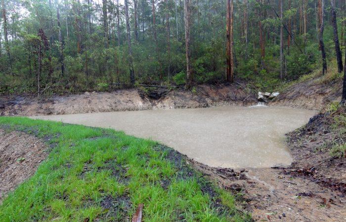 gold coast brisbane farm acreage dam builder