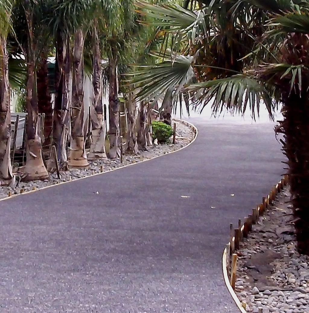 sealed acreage driveway cutting concrete asphalt gold coast brisbane