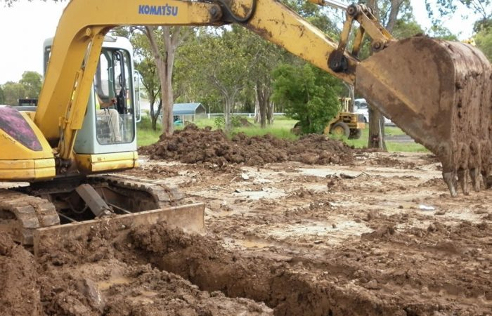 trade plumber electrician trenching hire Gold Coast Brisbane