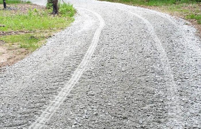 unsealed acreage driveway cutting gravel gold coast brisbane